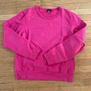 GAP Stretch stretch pink crewneck sweatshirt XL